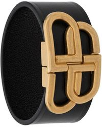 Balenciaga Armband Met Gesp - Zwart