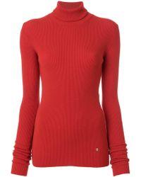 Nina Ricci - Cutout-detail Ribbed-knit Turtleneck - Lyst