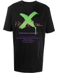 Haider Ackermann グラフィック Tシャツ - ブラック