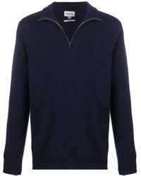 Woolrich Half-zip Knit Jumper - Blue
