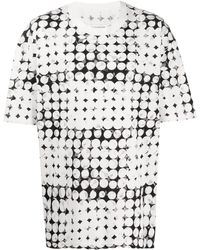 Maison Margiela - ポルカドット プリント Tシャツ - Lyst