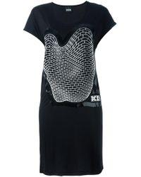 KTZ - Brick Print Sleevless Dress - Lyst