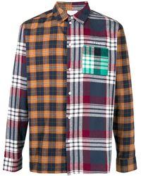 Daily Paper - パッチワーク チェックシャツ - Lyst