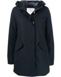Woolrich パデッドコート - ブラック