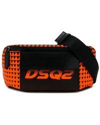 DSquared² 'Bionic Sport Dsq2 Race' Gürteltasche - Orange