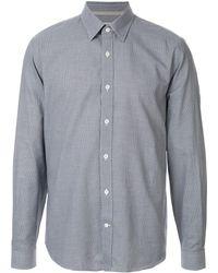 Gieves & Hawkes ニットシャツ - ブルー