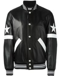 Givenchy - Star And Stripe Appliqué Jacket - Lyst