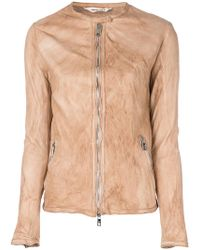 Giorgio Brato - Zipped Fitted Jacket - Lyst