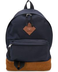 Sandro Suede-panel Technical Backpack - Blue