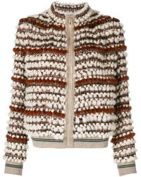 Cara Mila - Hailey Knitted Mink Jacket - Lyst