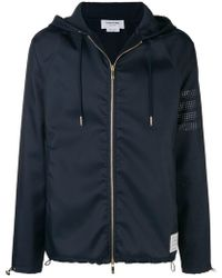 Thom Browne - Perforated 4-bar Ripstop Parka - Lyst