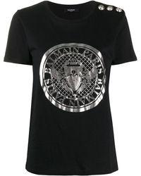 Balmain - プリント Tシャツ - Lyst