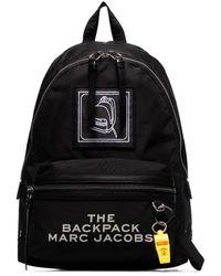 Marc Jacobs Большой Рюкзак С Логотипом - Черный