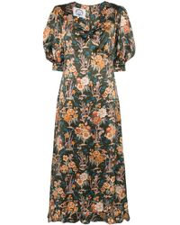 Evi Grintela Vanessa Floral Print Maxi Dress - Multicolour