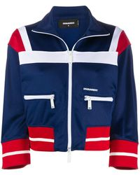 DSquared² - Zipped Jacket - Lyst