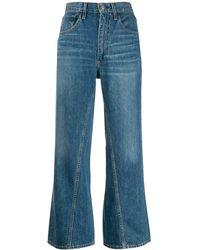 3x1 Aimee クロップドジーンズ - ブルー
