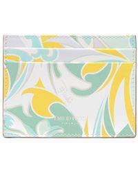 Emilio Pucci Tropicana Baby カードケース - ホワイト