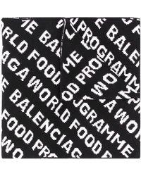 Balenciaga - ロゴ スカーフ - Lyst