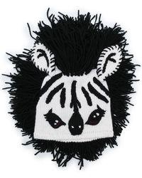 Dolce & Gabbana - Zebra Fringed Hat - Lyst