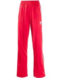 adidas Firebird Track Trousers - Red