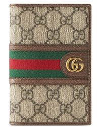 Gucci Ophidia GG Passport Case - Multicolor