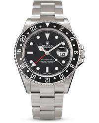 Rolex Наручные Часы Gmt-master Ii Pre-owned 40 Мм 2001-го Года - Черный