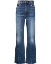 Sandro High Waist Jeans - Blauw