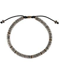 M. Cohen Bracelet à design ajustable - Métallisé