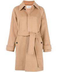 Diane von Furstenberg Lia Belted Coat - Brown