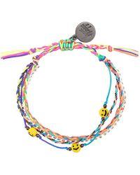 Venessa Arizaga All Smiles On Me Beaded Bracelet - Multicolour