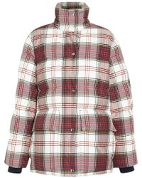 Burberry - Check Down-filled Puffer Jacket - Lyst