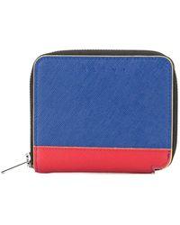 Marni ファスナー財布 - ブルー