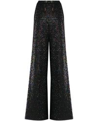 Missoni Sequined Flared Trousers - Black