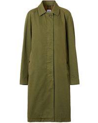 Burberry シングルコート - グリーン