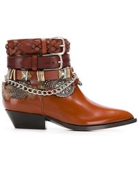 Philosophy Di Lorenzo Serafini - Buckled Pointed Boots - Lyst