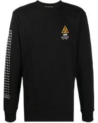 Vans ロゴ ロングtシャツ - ブラック