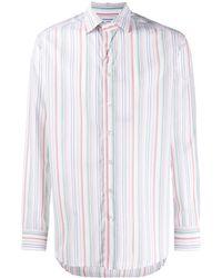 Etro - Полосатая Рубашка - Lyst