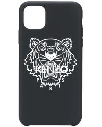 KENZO Чехол Tiger Для Iphone 11 Pro - Черный