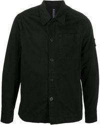 Raeburn パッチポケット シャツ - ブラック