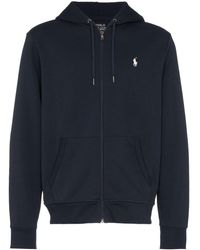 Polo Ralph Lauren Sweat zippé à capuche - Bleu