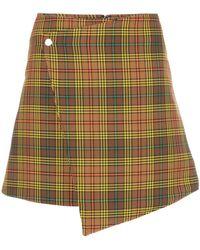 Ellery Beatty ラップ スカート - マルチカラー