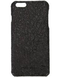 Rick Owens ブラック レザー Iphone 6 ケース