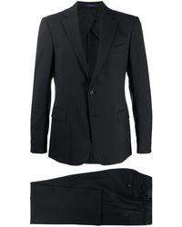 Ralph Lauren Purple Label ツーピース テーラードスーツ - ブラック