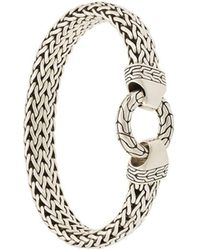 John Hardy - Classic Chain Ring Clasp Bracelet - Lyst