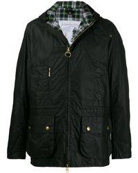 Barbour ワックスコットン ジャケット - ブラック