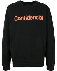 Marcelo Burlon - Confidencial スウェットシャツ - Lyst