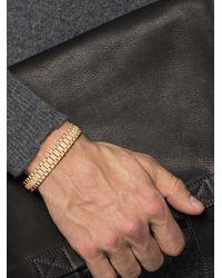 SHAY パヴェダイヤモンド ブレスレット 18kイエローゴールド - メタリック