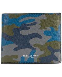MICHAEL Michael Kors - Harrison Camouflage-print Bifold Wallet - Lyst
