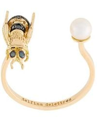 Delfina Delettrez - 'to Be Or Not To Be' Diamond Ring - Lyst
