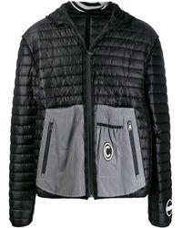 Colmar A.G.E. by Shayne Oliver Hooded Ribbed Jacket - Black
